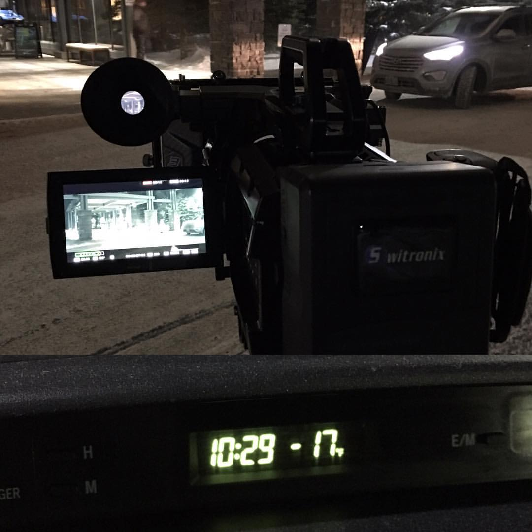 Blackmagic Design URSA Mini 4.6K working in -17°F