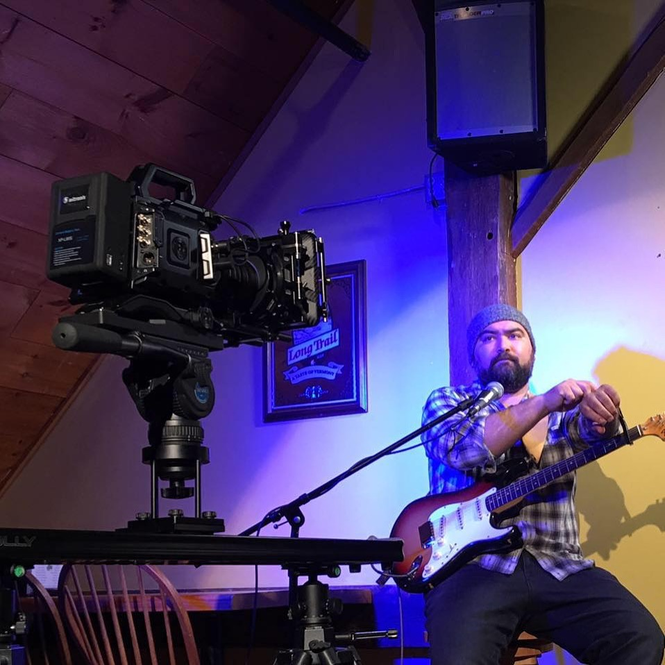 Blackmagic Design URSA Mini 4.6K (Beta; Kochab) on Set of Troy Ramey Music Video Song Man