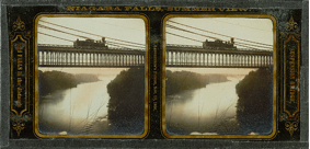 Niagra Falls, New York, 1855-1856 Glass Stereograph, 2 9/16 X 2 3/8 in., Langenheim Brothers